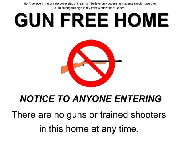gun free home