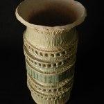 #4. Vase, 10″t x 5.5″w