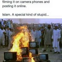 Burning infidel technology
