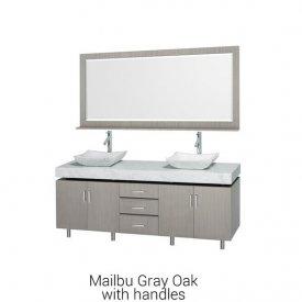 "Malibu Gray Oak With Handles | Available Sizes: 48"""