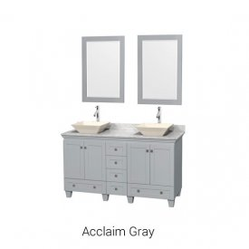Acclaim Gray | Available Sizes: 30″, 36″, 48″, 60″, 72″, 80″ and Tower