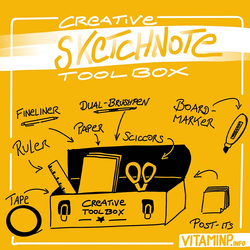 Toolbox for Visual Thinking and Sketchnotes