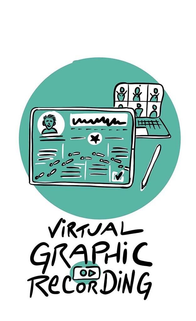 Sketchnote Virtual Graphic Recording ChristopherHenke.de