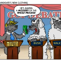 Cartoon: The Candidate's New Clothing
