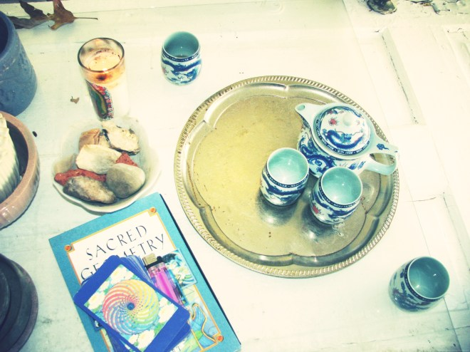 Sacred Geometry and Tea