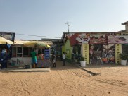 some shops around the beach area