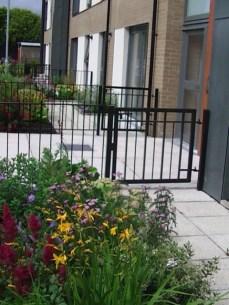 Private Front Garden Patio