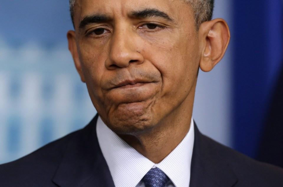 """Obama, el """"pato cojo""""."""