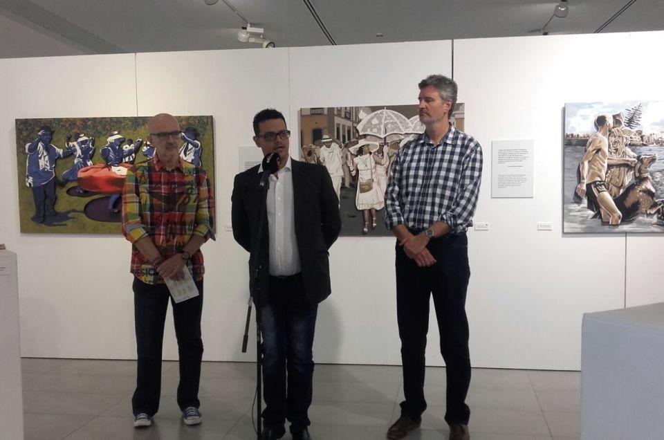 Inauguración de la muestra «Ancestros», de Francisco Suárez.