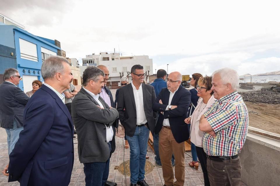 Visita del Cabildo Insular de Gran Canaria a Ingenio.