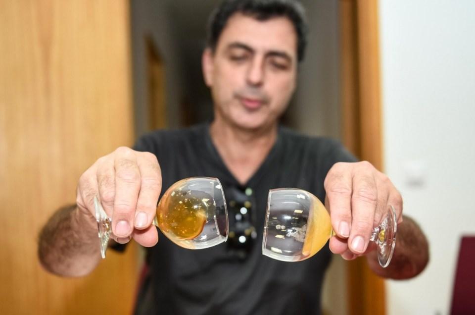José González, productor de la mejor miel de la isla de Gran Canaria.