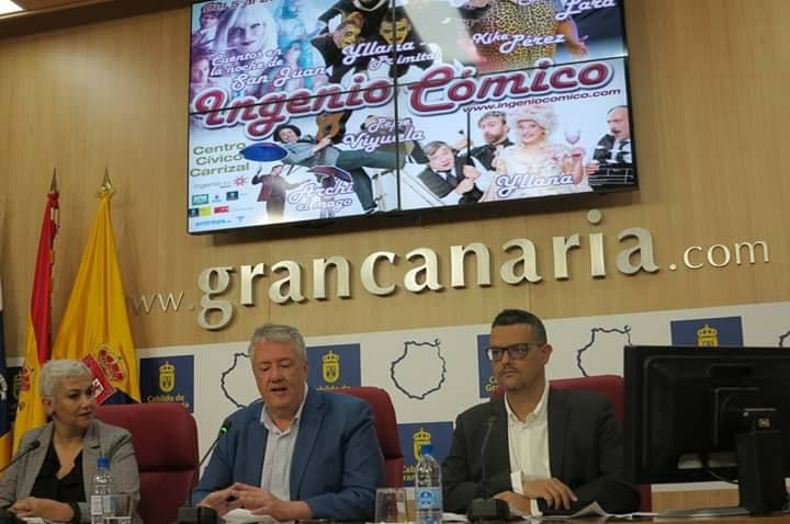 Presentación del XXIII Festival de Teatro «Ingenio Cómico».