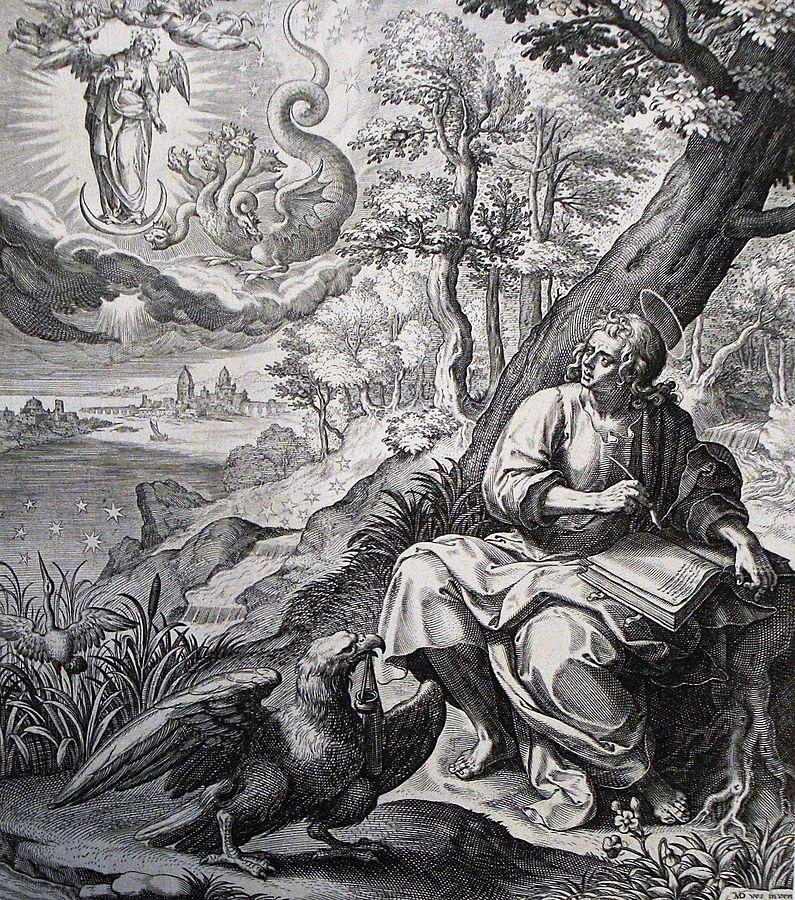 John's Vision of the Woman and the Dragon (Rev 12:1-6)