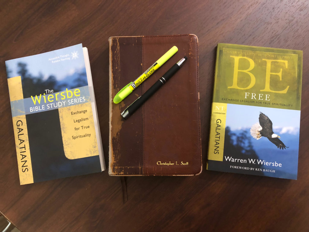 Four Tips for Using Wiersbe Bible Study Guides   Christopher