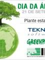 Ação para Dia da Árvore na Teknisa Software