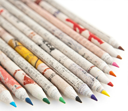 Empreendedorismo Verde - Lápis de papel reciclado