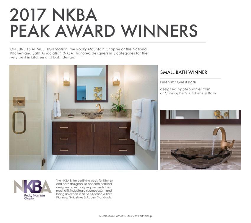NKBA Peak Award Winner | Christopher\'s Kitchen & Bath