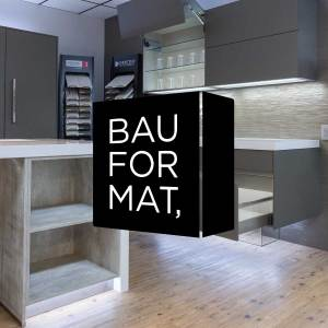 Bauformat modern German cabinetry from Christopher's Kitchen & Bath.