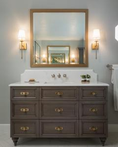 look for unique bathroom designs at Christopher's Kitchen and Bath