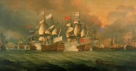 The Battle of the Saints