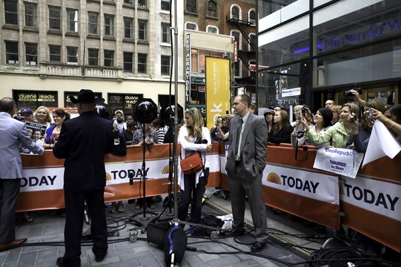Today Show (live on the set of the national morning show)