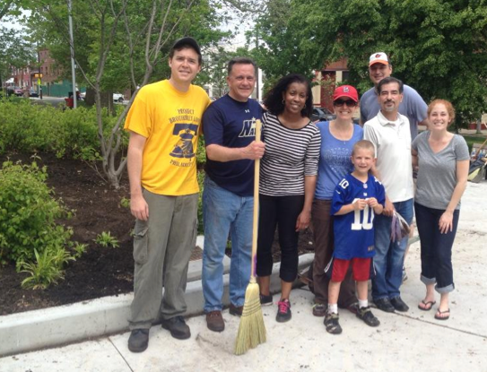 Fairhill Square Park Pay it Forward Project