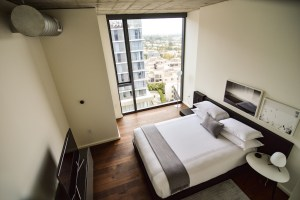 AKA Residences Furnished Bedroom With Views