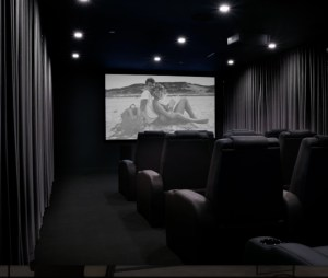 AKA Residences Include Private Theatre