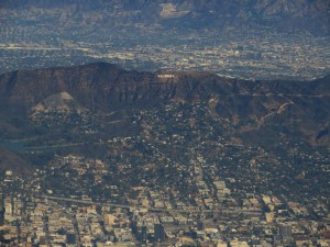 Hollywood Hills and San Fernando Valley