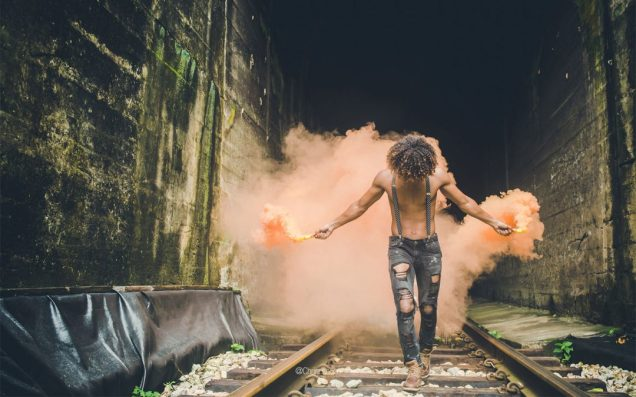 bombas de humo para fotografia artistica portrait retrato