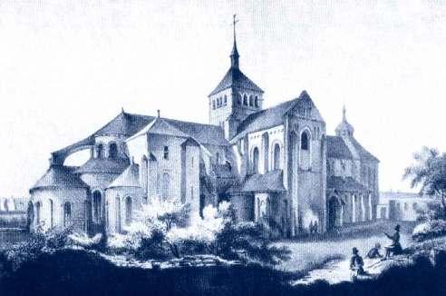 Abbatiale de Fleury par Charles-Pensée
