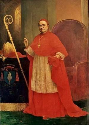 Cardinal Pie - portrait par E. Lejeune