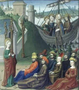 Saint Lazare arrivant en Provence