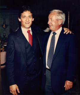 with Billy Haughton (May 1986)