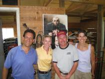 Donna Brothers, Ray Schnittker and Janet Durso