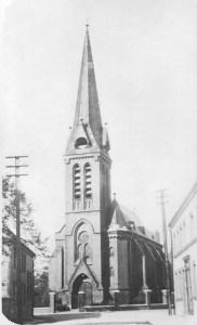 Die Lutherkirche - vor ihrer Umbenennung zur Christus-Kirche