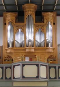 Die Muhleisen-Orgel auf der Empore