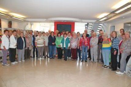 Die Frauenhilfe zu Besuch im Medienhaus in Bielefeld