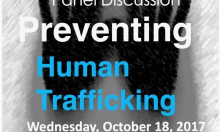 EUROPEAN ANTI-TRAFFICKING DAY PreventinG Human Trafficking – Geneva, Palais des Nations, Room XXIII – Wednesday, October 18, 2017