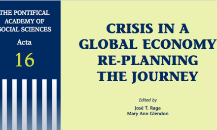 CRISIS IN A GLOBAL ECONOMY RE-PLANNING THE JOURNEY