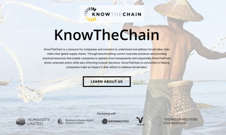 """KnowTheChain"" is a resource for companies and investors to understand and address forced labor risks"