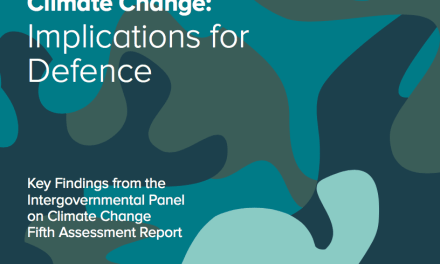 Climate Change: Implications for Defence
