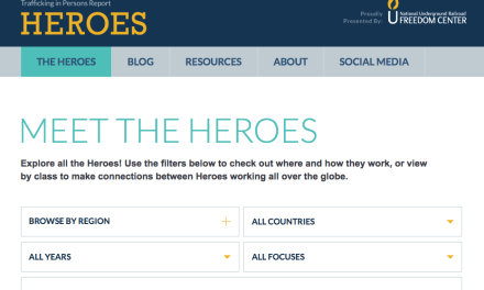 COMBATING HUMAN TRAFFICKING: MEET THE HEROES / U.S. Department of State