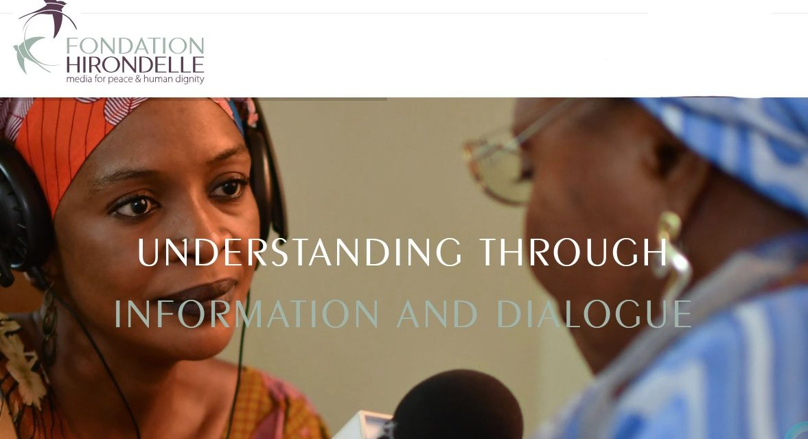 Fondation Hirondelle provides information to populations faced with crisis. Through our work, millions of people in war-affected countries, post-conflict areas have access to media