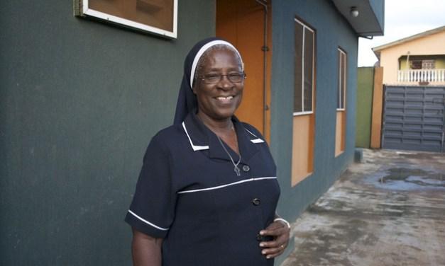 NIGERIA – Sister Patricia Ebegbulem – Bakhita Villa, a shelter she runs for trafficking survivors in Lagos, Nigeria