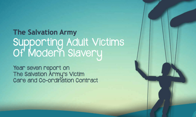 THE SALVATION ARMY UK – REPORT: SUPPORTING MORERN VICTIMS OF MODERN SLAVERY