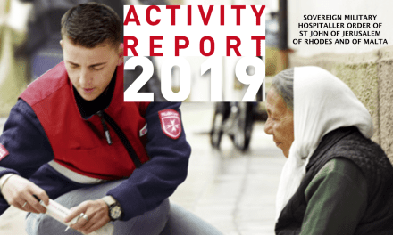 ANNUAL REPORT 2019 – SOVEREIGN MILITARY HOSPITALLER ORDER OF ST JOHN OF JERUSALEM OF RHODES AND OF MALTA