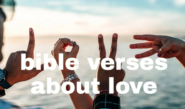 40 bible verses about love of God