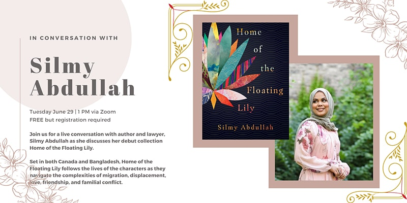 Poster for Silmy Addullah's book launch