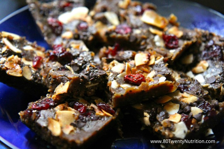 Lentil Energy Bars ingredients No Bake Vegan Gluten Free Raw Dairy Free Christy Brissette dietitian 80 Twenty Nutrition Canadian Lentils Star of the Show #LoveLentils